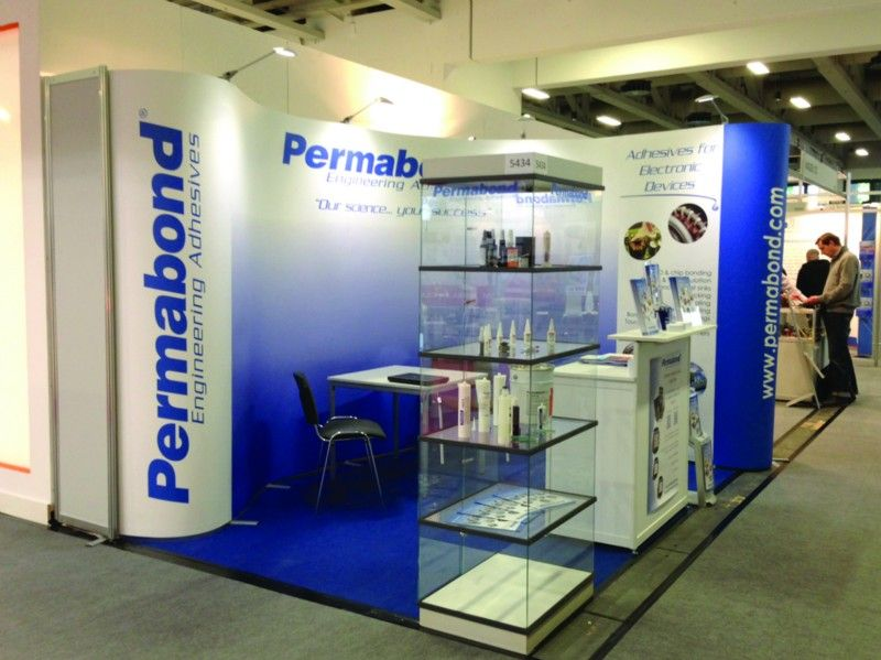 Simple Exhibition Stand Jobs : Isoframe wave is affordable simple to set up and