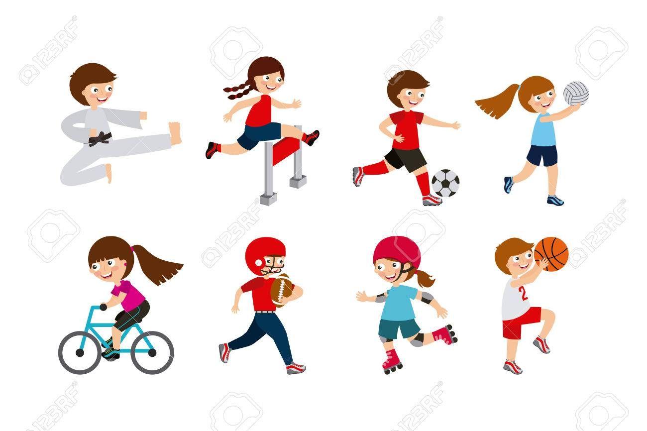 Image Result For Kids Sport Practice Cartoon Sports Design Kids Sports Sport Poster Design