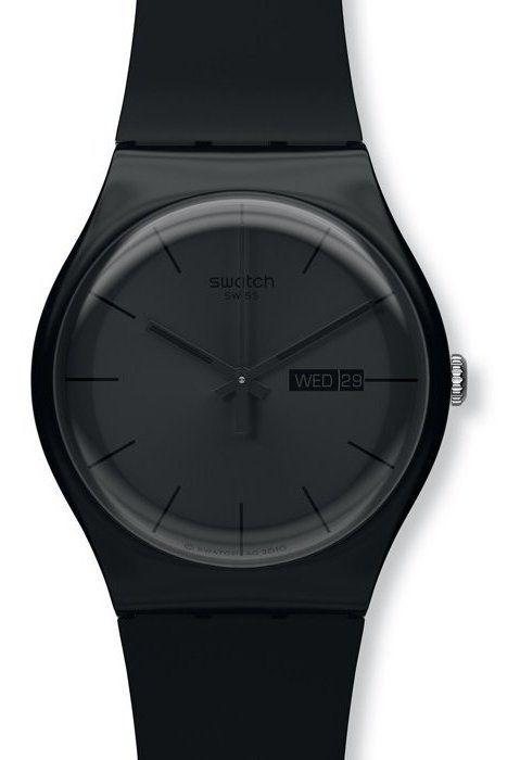 Assez Montre Swatch Black Rebel | bijoux | Pinterest | Montres, Horloge  HJ36
