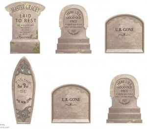 printable haunted mansion tombstone templates been there decored