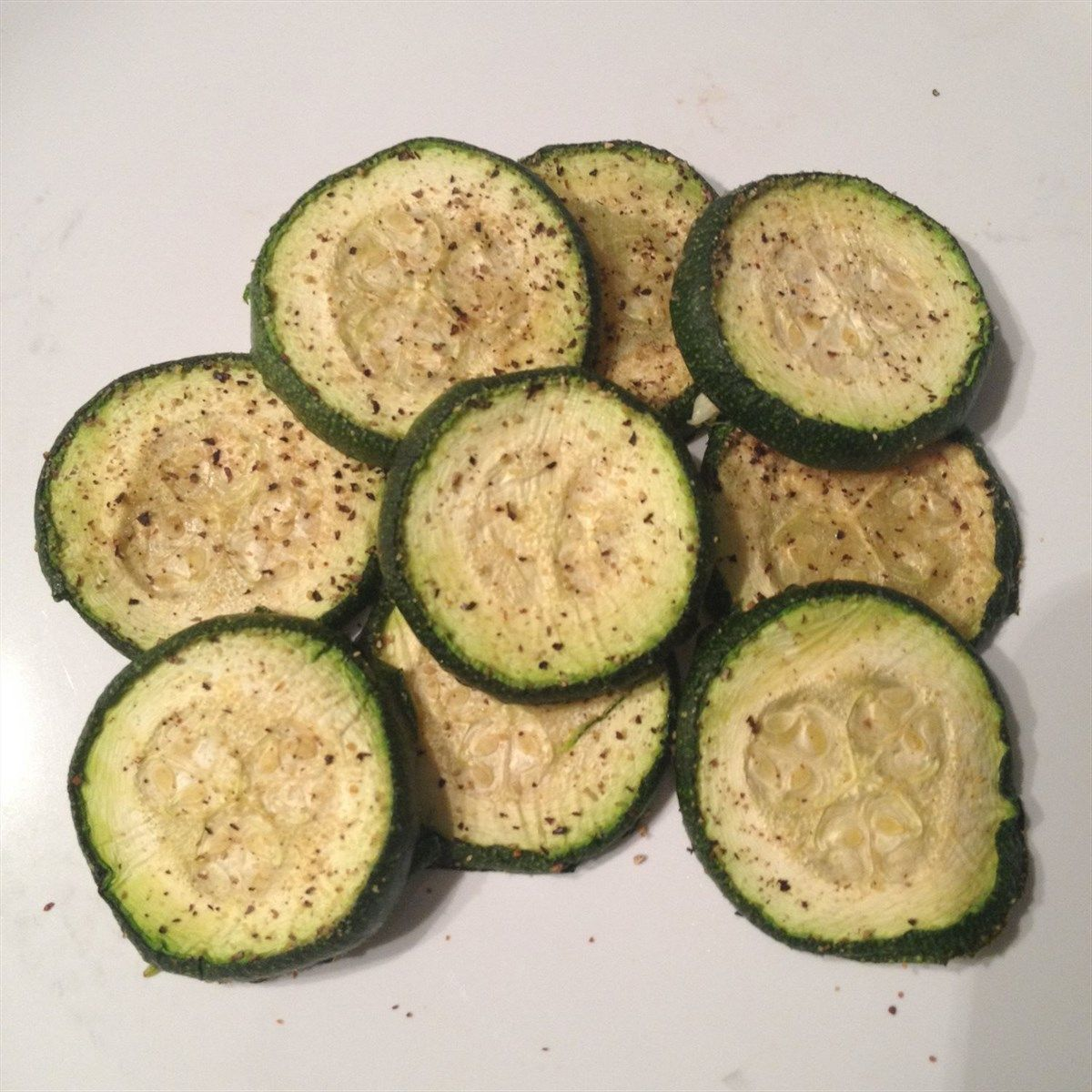 Italian roasted zucchini never gets old!