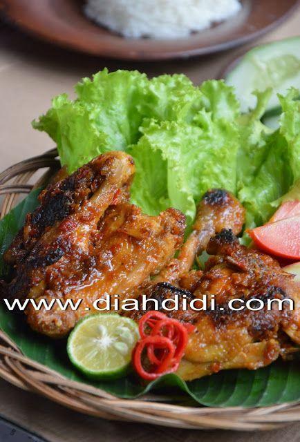 Pedas Manis Ayam Bakar Bumbu Rujak Sedapp Resep Ayam Resep Masakan Resep Masakan Cina