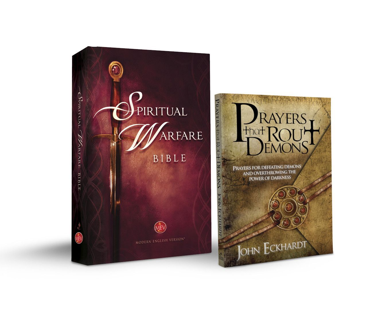 spiritual warfare bible hardcover with free 'prayers that rout
