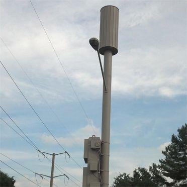 Pole Top Concealments For Odas Panel Antenna Concealfab Inc Pole Tops Antenna Paneling