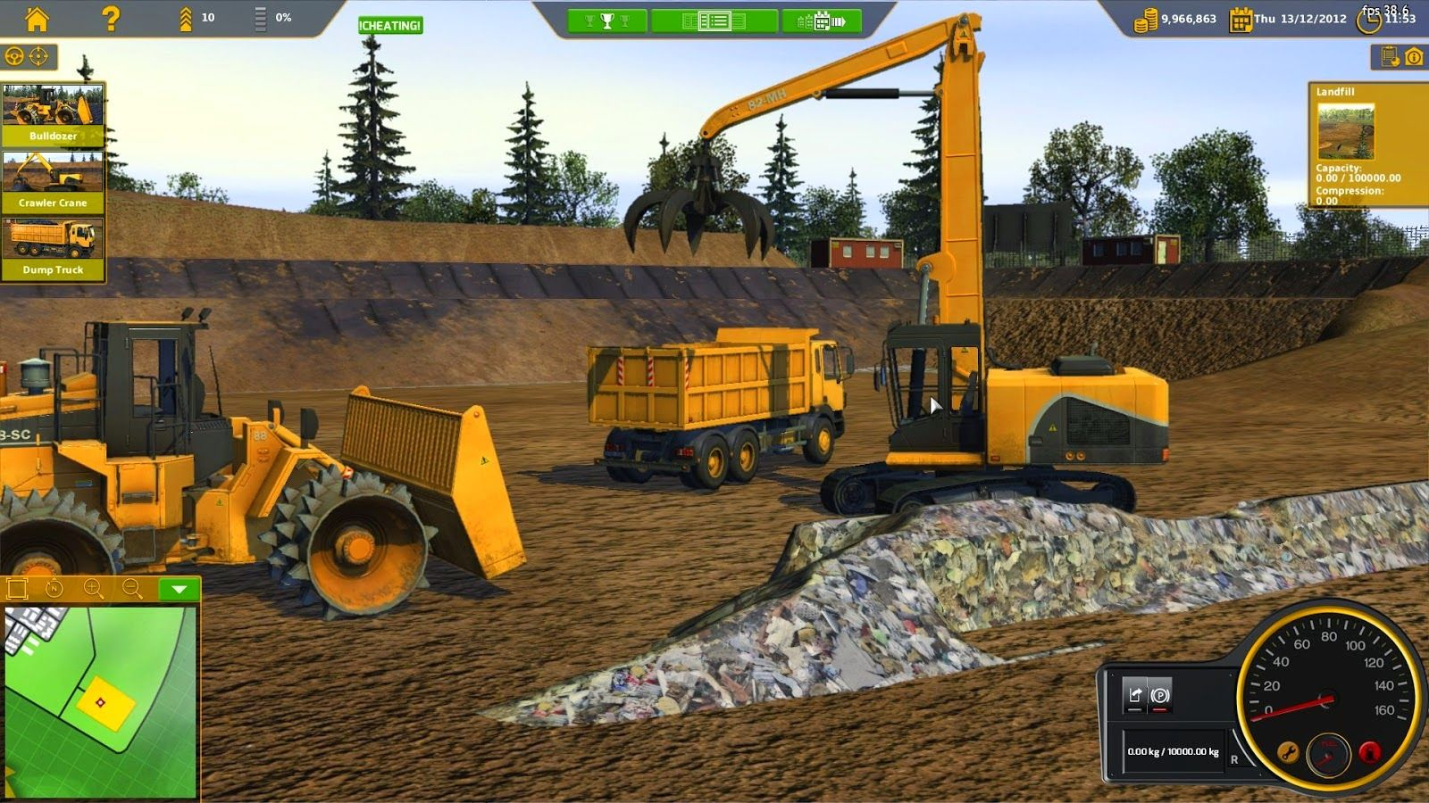 one of the best vehicle simulator game with excavator