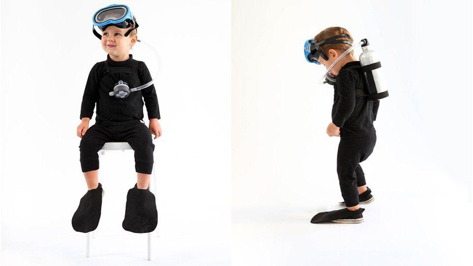 10 d guisements diy faire la derni re minute deguisements d guisement plongeur costume. Black Bedroom Furniture Sets. Home Design Ideas