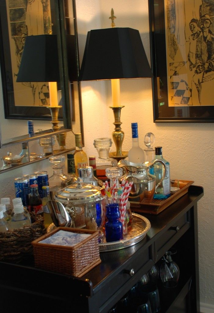 Lamp Shade Bar Set Up Home Sets My Bars For