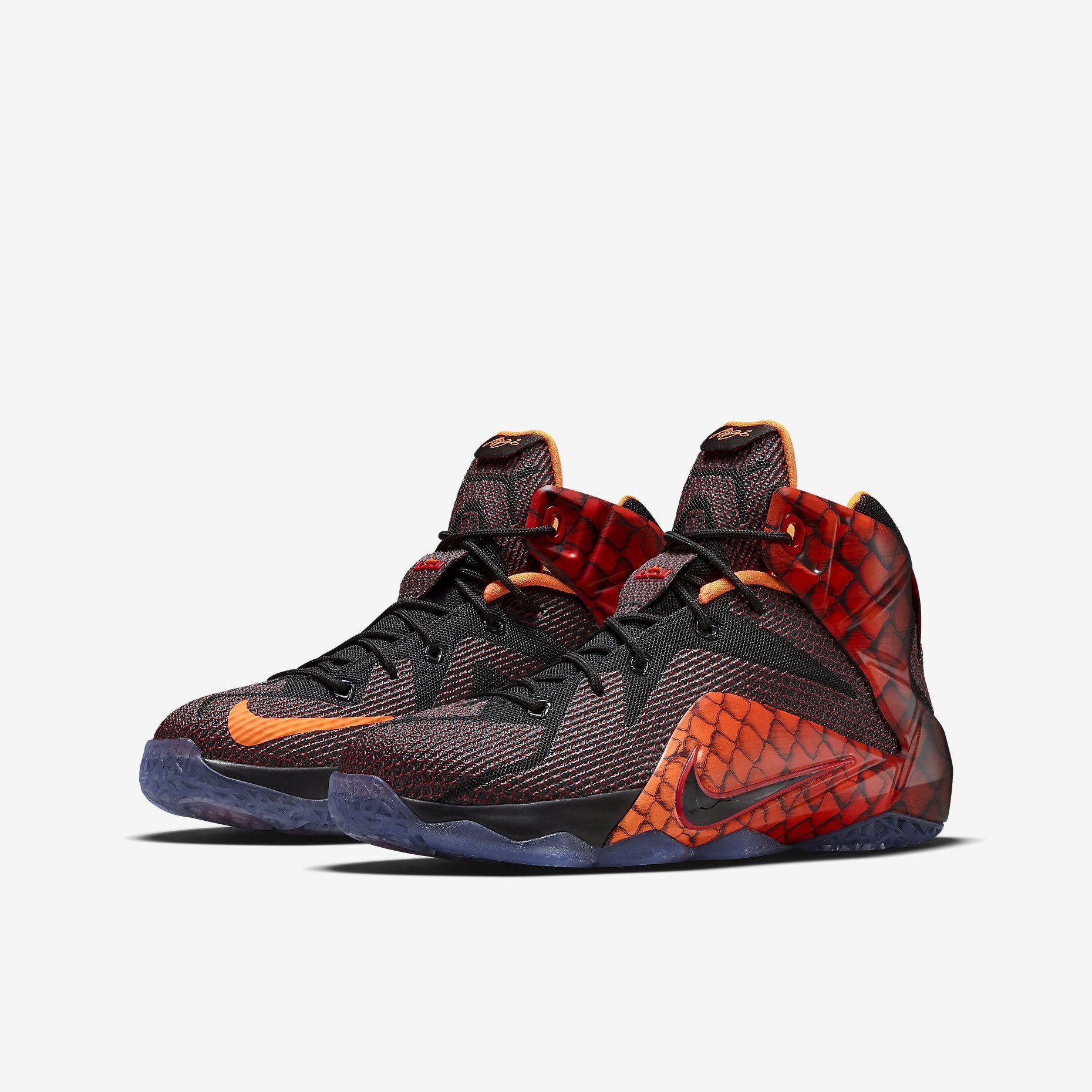 ebf30af4a34d Nike LeBron 12 Kids