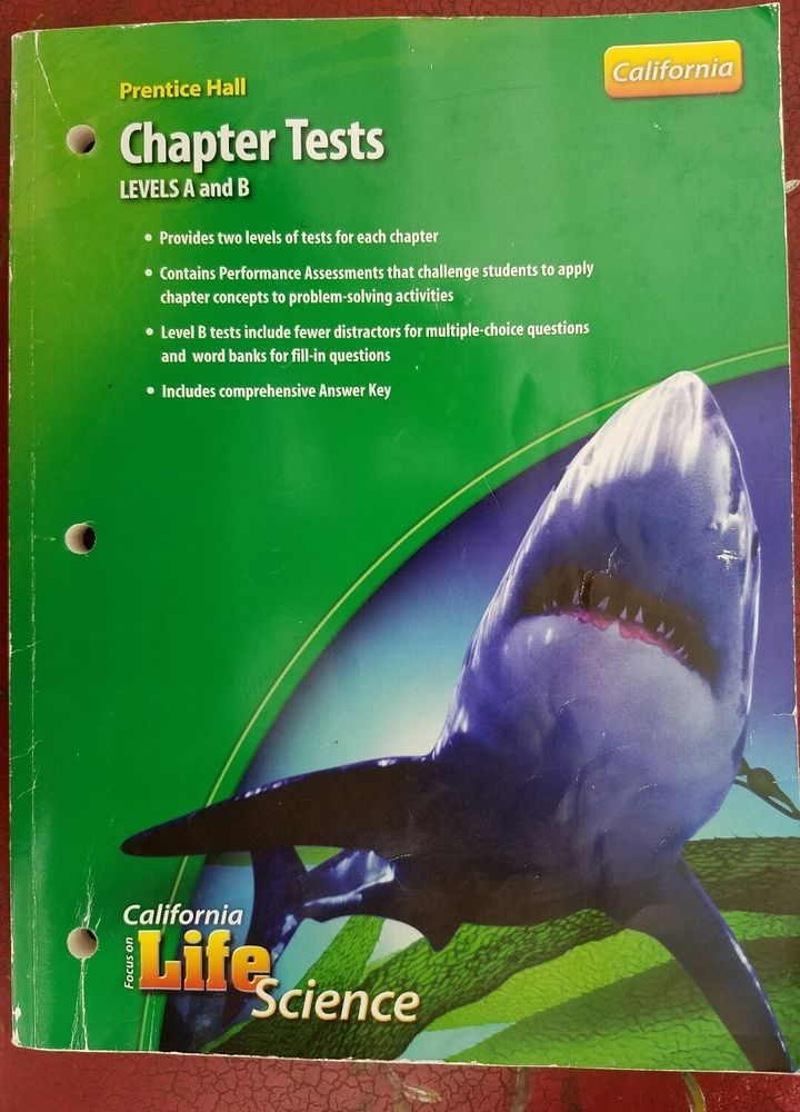 Life Science Textbook 7th Grade Answers : science, textbook, grade, answers, Prentice, Grade, Focus, Science, Chapter, Tests, Levels, Science,, Problem, Solving, Activities,