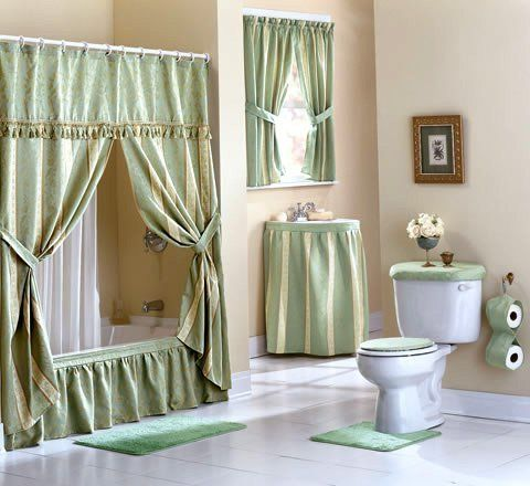 Luxury Shower Curtains With Valance Elegant Shower Curtains With