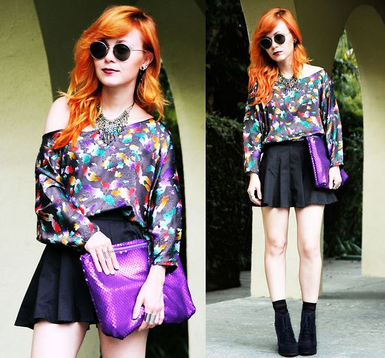 Start Wearing Purple For Me Now (by Pollie Ferraz) http://lookbook.nu/look/2920321-Start-Wearing-Purple-For-Me-Now