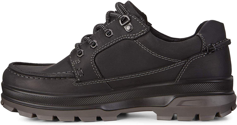 Amazon Com Ecco Men S Rugged Track Gore Tex Moc Tie Hiking Shoe Black 39 M Eu 5 5 5 Us Hiking Shoes Hiking Shoes Rugged Men Gore Tex