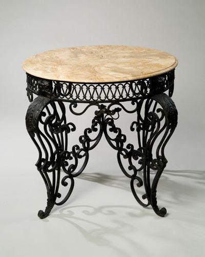 Pin by r gaier on wrought iron pinterest muebles for Muebles de fierro forjado