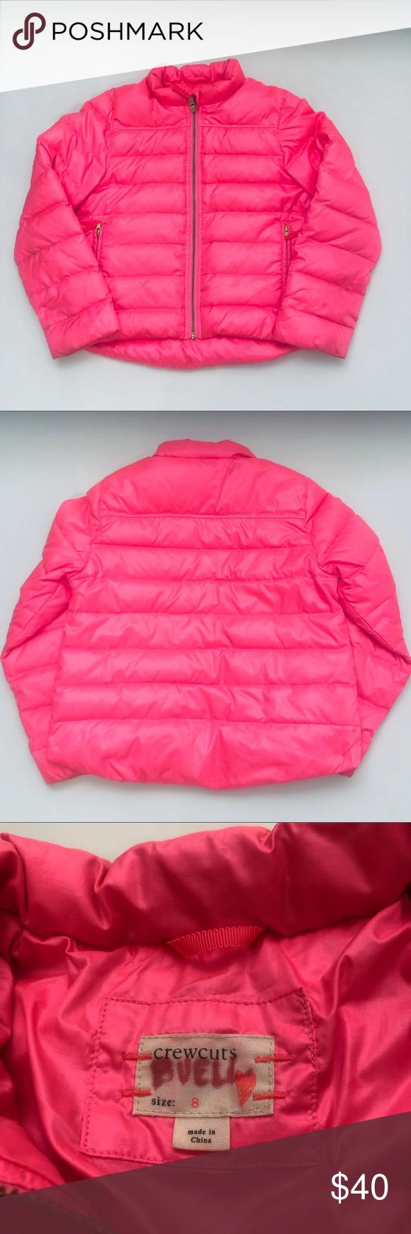 Crewcuts Shiny Down Puffer Hot Pink Jacket Pink Jacket Jackets Hot Pink [ 1740 x 580 Pixel ]