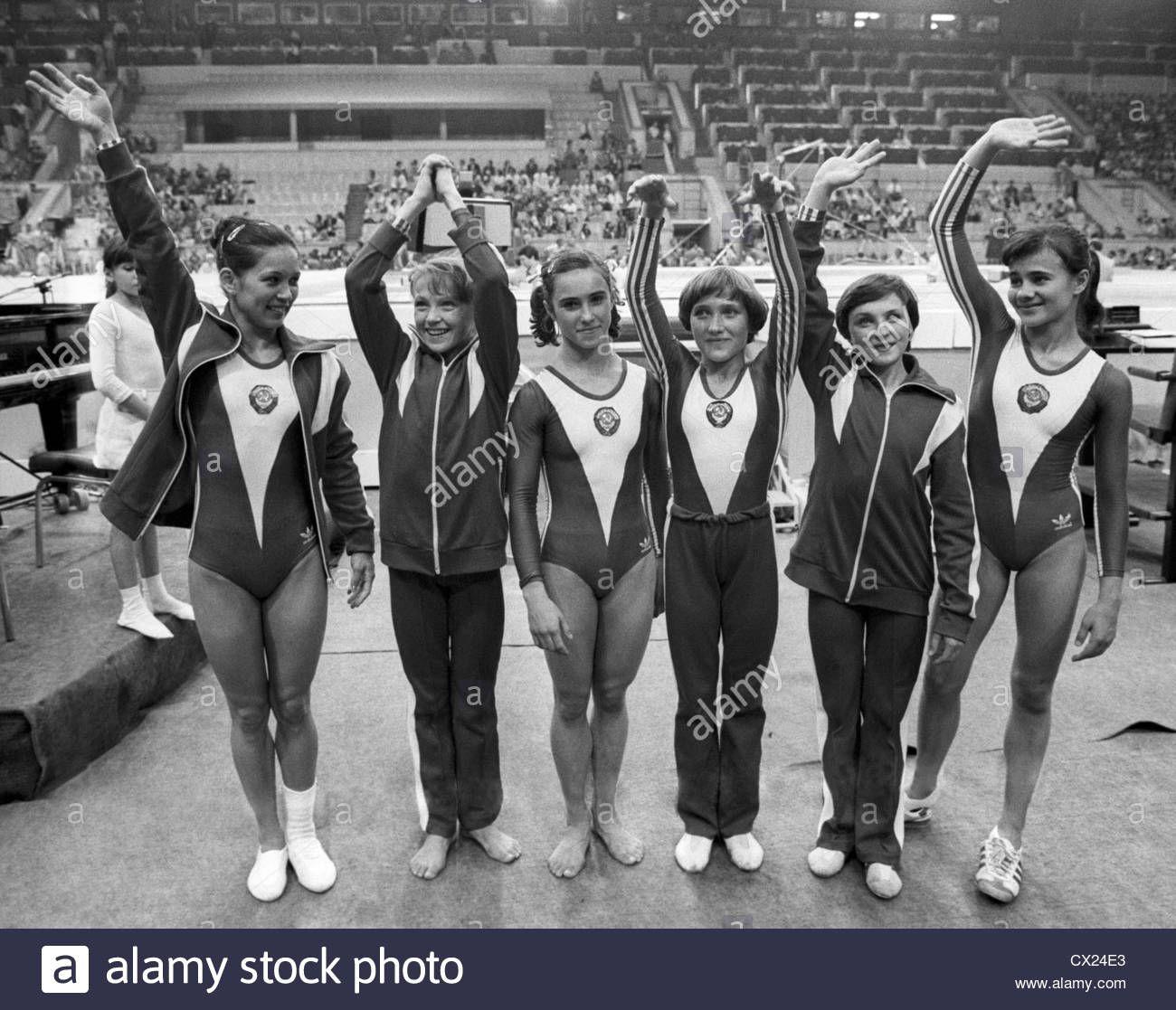 Image Gallery Soviet Gymnasts