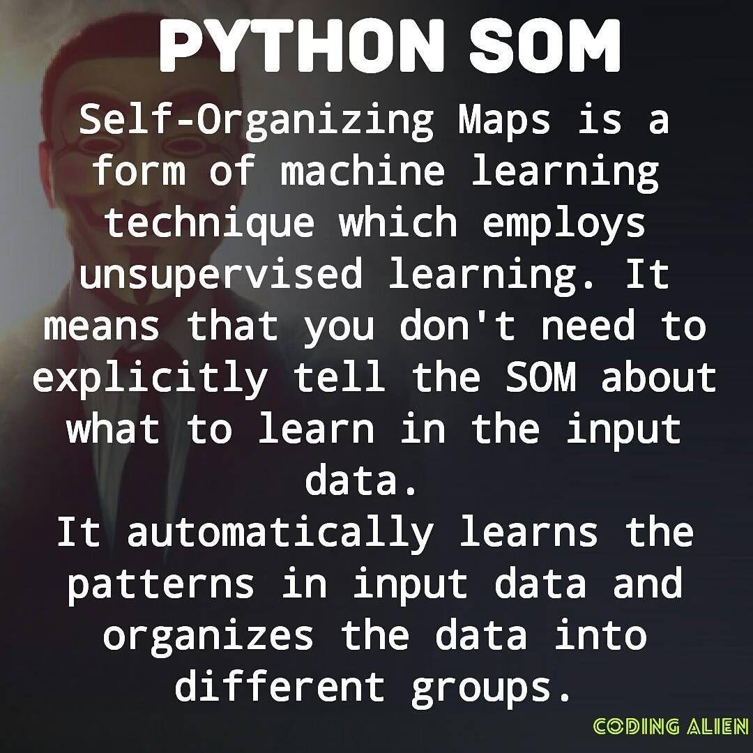 Self-Organizing Maps. #codingalien #coding #programming #python ...