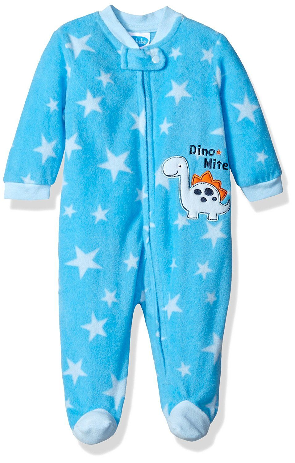 BON BEBE Baby Boys Dude Footed Coverall