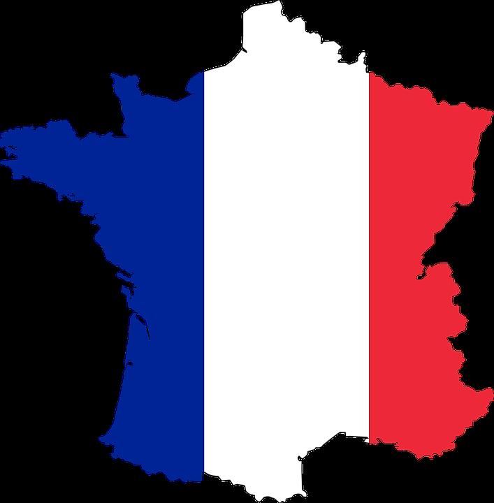 Imagen Relacionada France Flag France Map Flag Vector