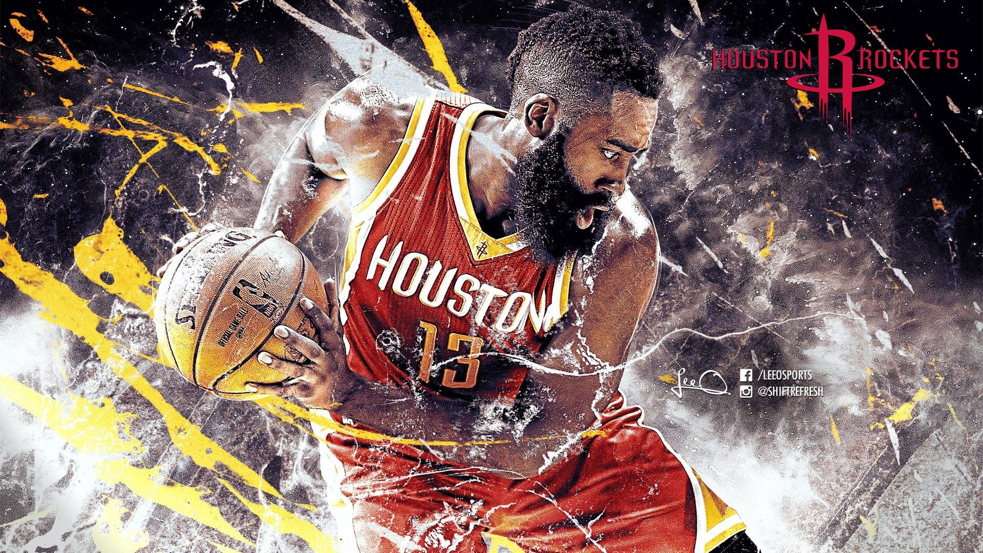 James Harden Beard Desktop Wallpapers Is The Perfect High Quality Nba Basketball Wallpaper With Hd Resolution Click Image Or Visit Button For Best Quality A