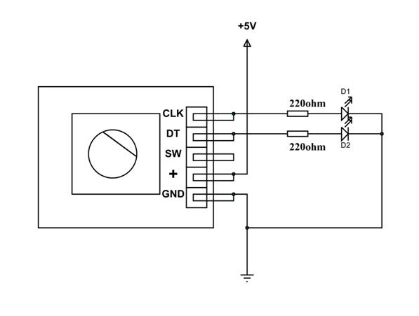 Rotary Encoder Wiring Ky040 Arduino Tutorial Schematics And More