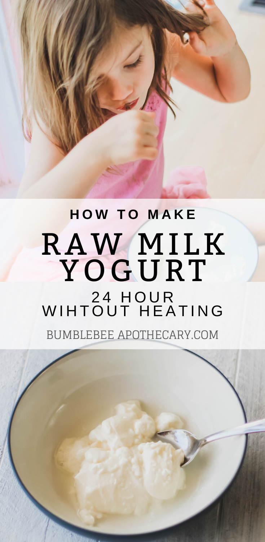 24 Hour Raw Milk Yogurt Recipe Without Heating Recipe Gaps Diet Recipes Yogurt Recipes Healthy Baby Food