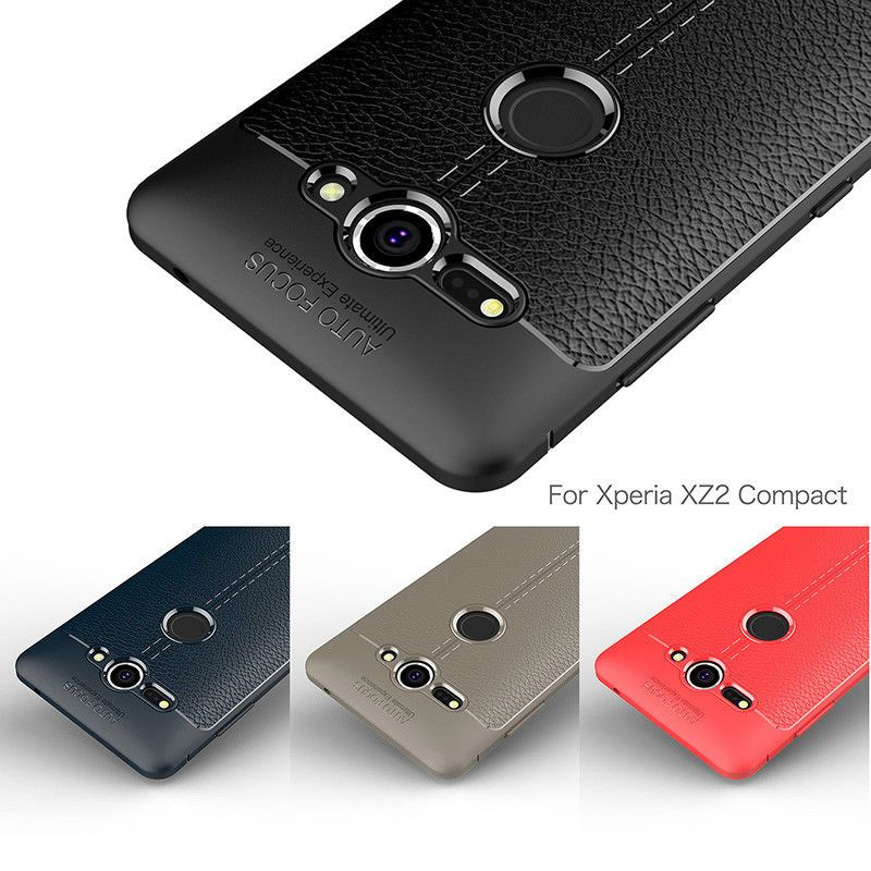 best website 80cd2 2ac67 $1.99 - Slim Leather Silicone Shockproof Armor Case Cover For Sony ...