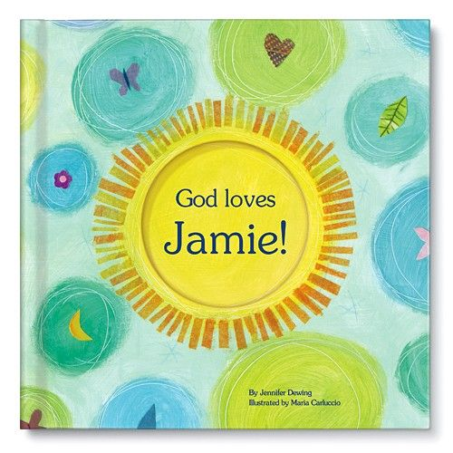 Personalized childrens bookpersonalized baby giftsgod loves you personalized baby gifts books negle Images