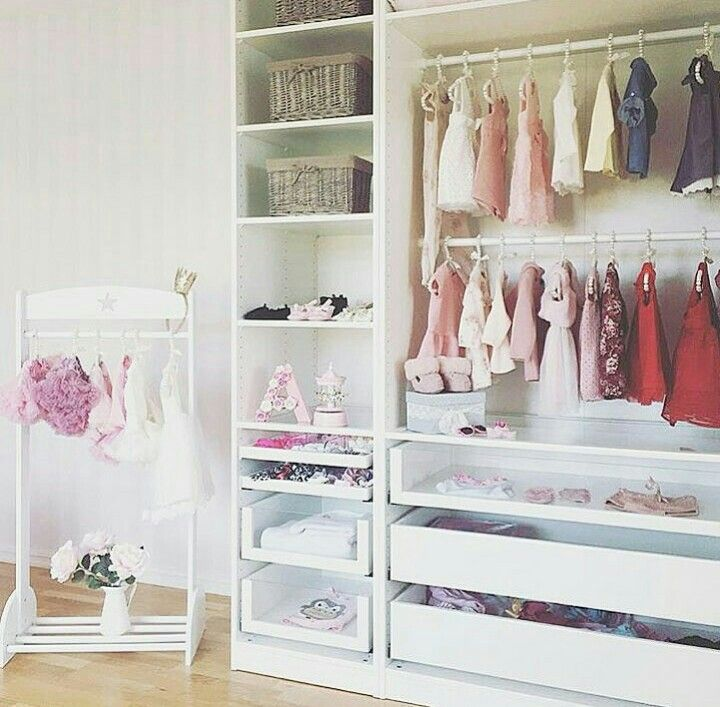 Pax Wardrobe For Baby Girl S Room Kleiderschrank Kinderzimmer