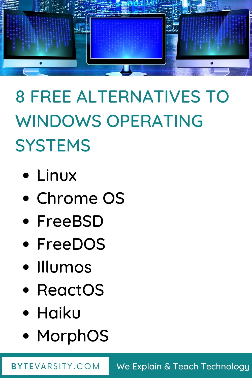 8 Free Alternatives To Windows In 2020 in 2020 | Free ...