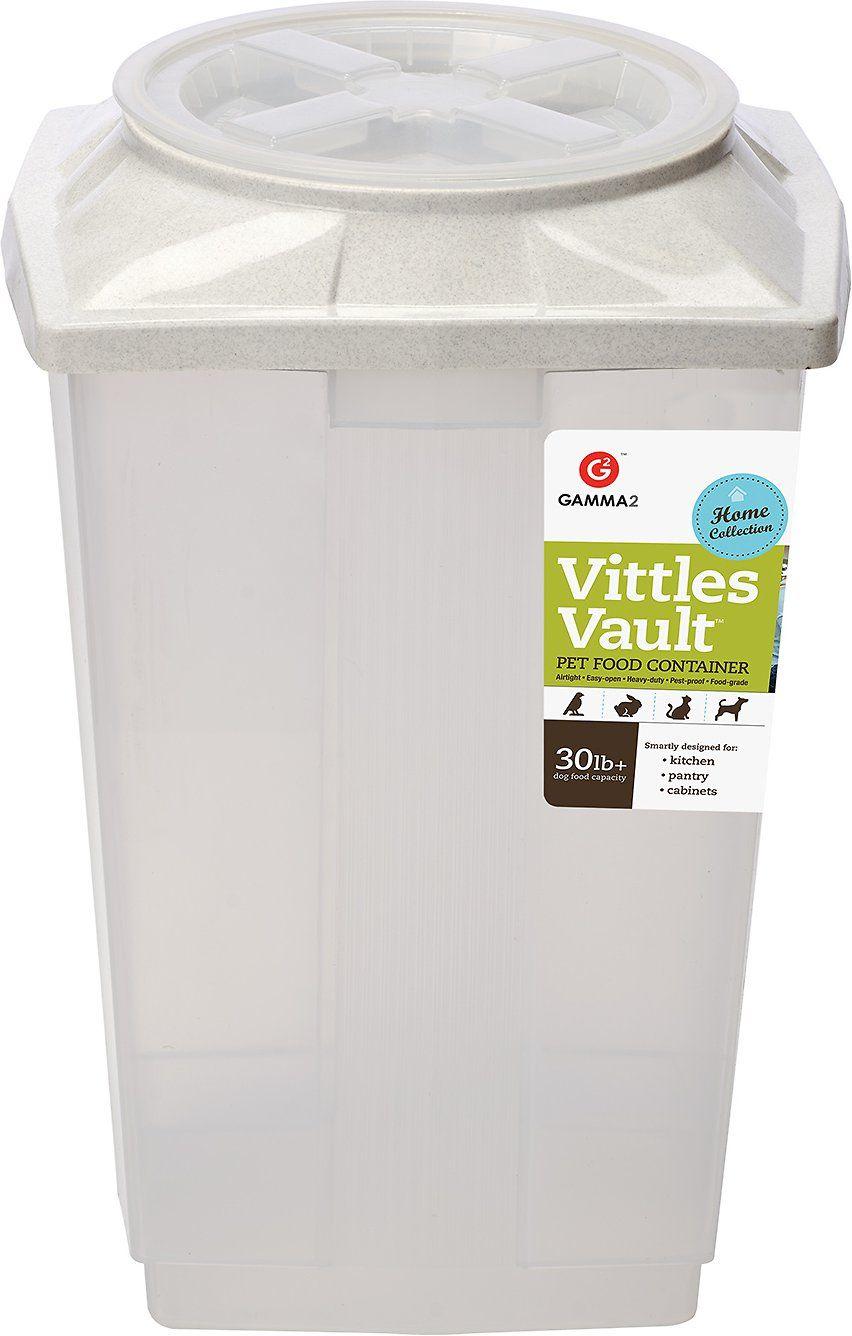Gamma2 Vittles Vault Ii Pet Food Storage In 30lb The