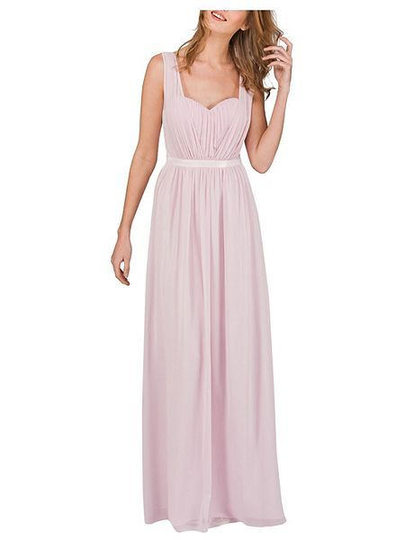 Pink Pleated Maxi Dress, reduced to £52.50, available up to size 18 ...