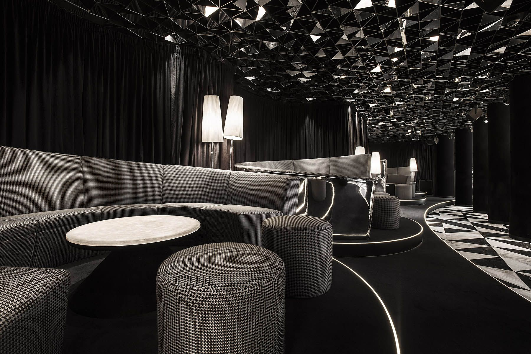 VIP Bar & Club Lounge Design