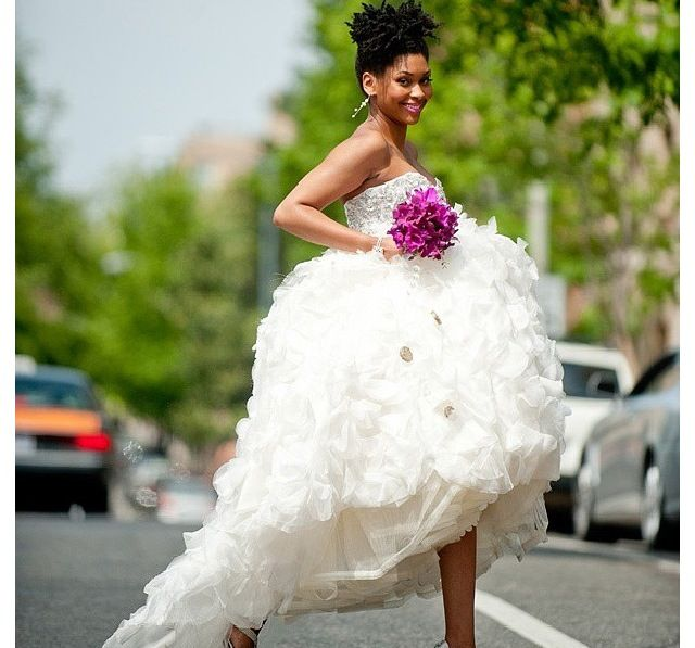 Over 20 Natural Hair Styles For Wedding Day Success Natural