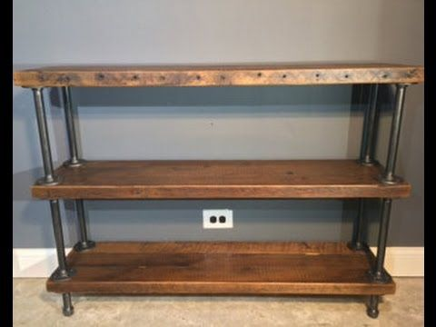 shoppe reclaimed by long pin bookshelf atlas with storage on scoutmob media wood console w etsy j company atlaswoodco