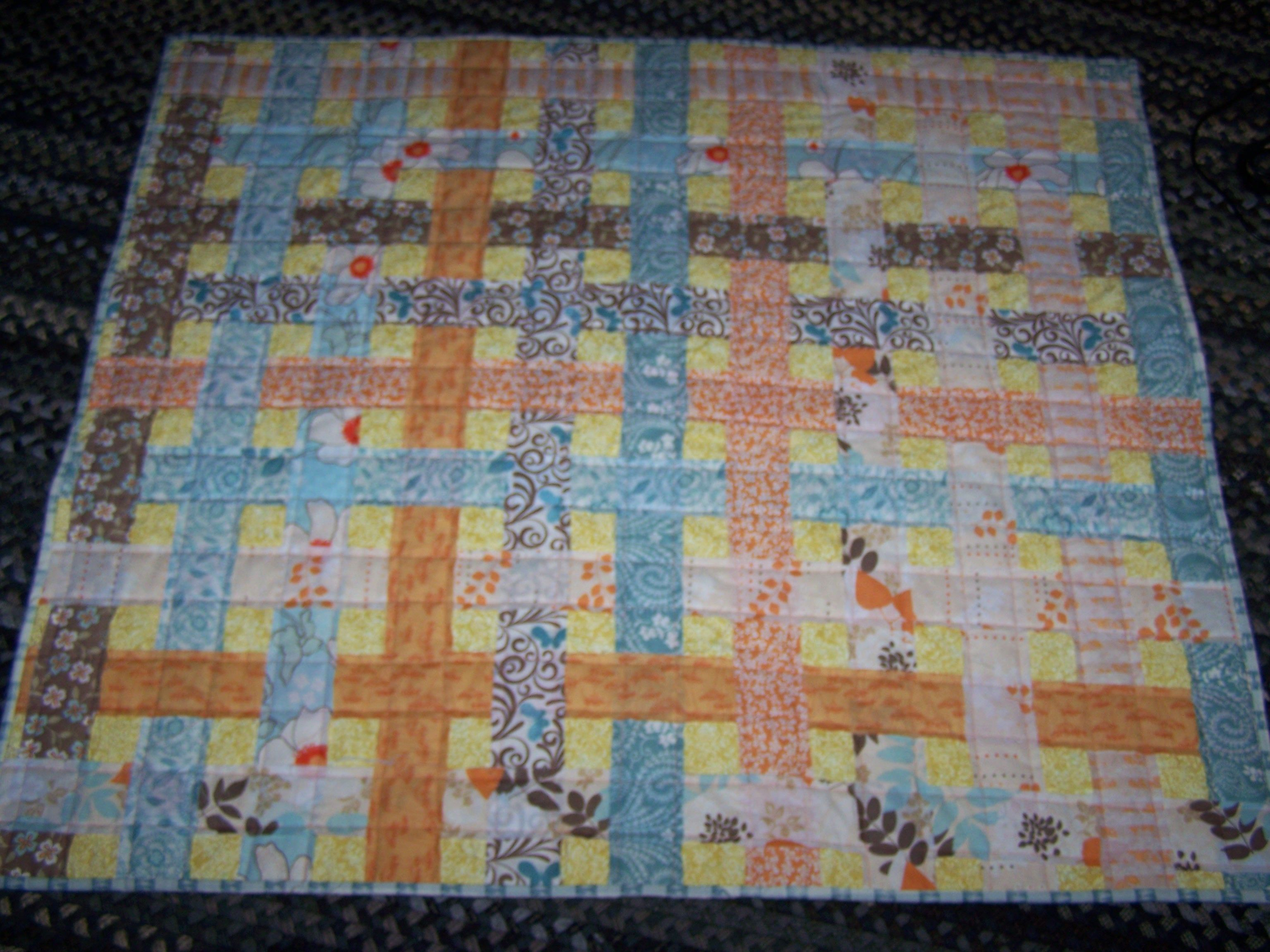 jelly+roll+quilt+patterns | Basket weave quilt only need one roll ... : weave quilt pattern - Adamdwight.com