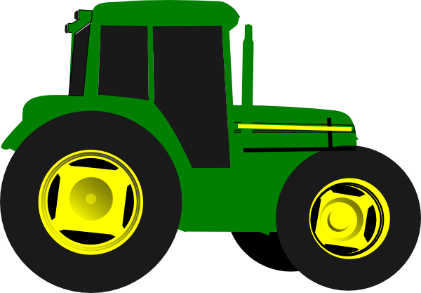 green tractor clip art vector clip art online royalty free rh pinterest co uk tractor trailer clipart free tractor trailer clipart free download