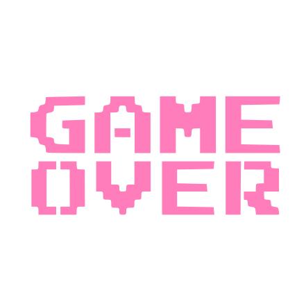 Game Over Cookie Stencil Cookie Stencils Stencils Decorating Videos