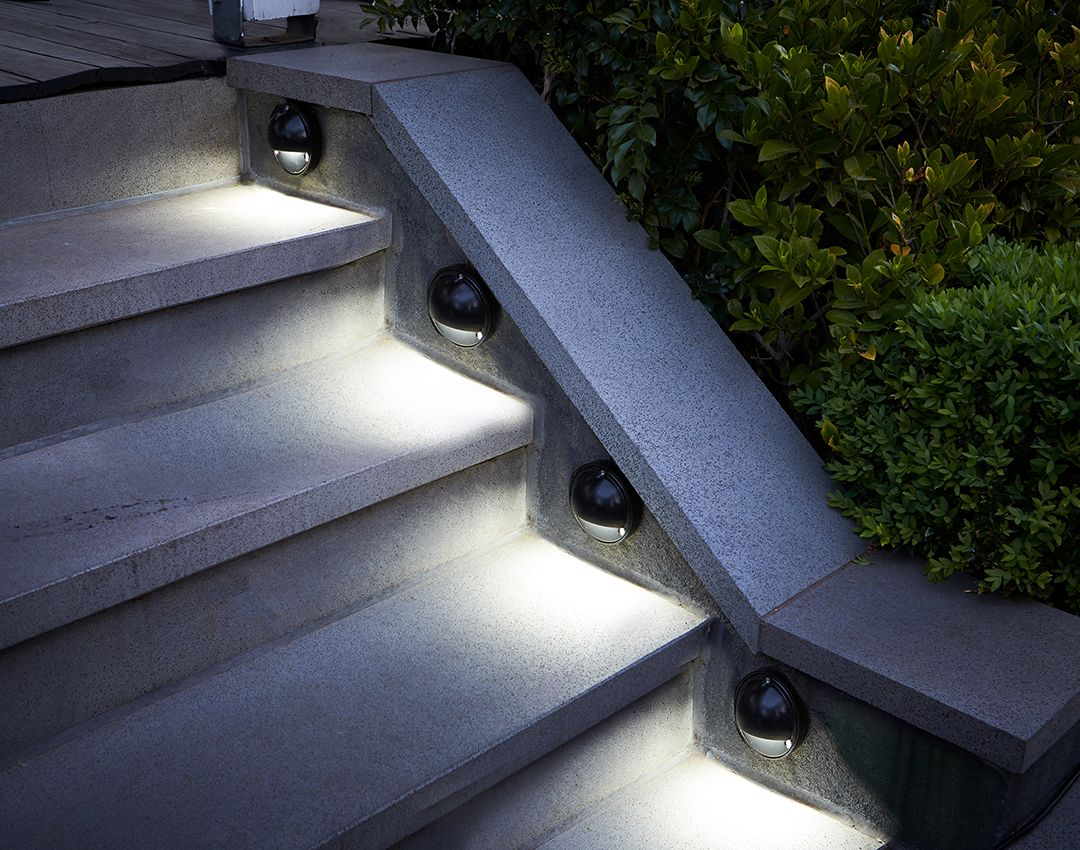 Keep Your Steps Or Path Well Lit With Hpm 12v Led Step Lights Bunnings Outdoorlighting Lightingdesign Outdoor Lighting Led Step Lights Step Lighting