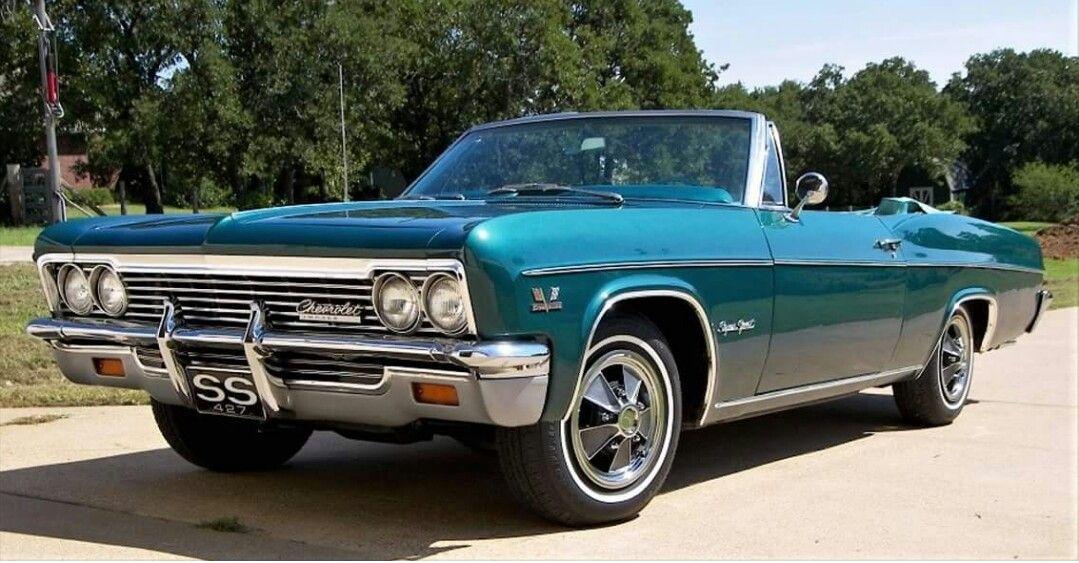 "1966 Chevrolet Impala Super Sport 427"" Convertible"