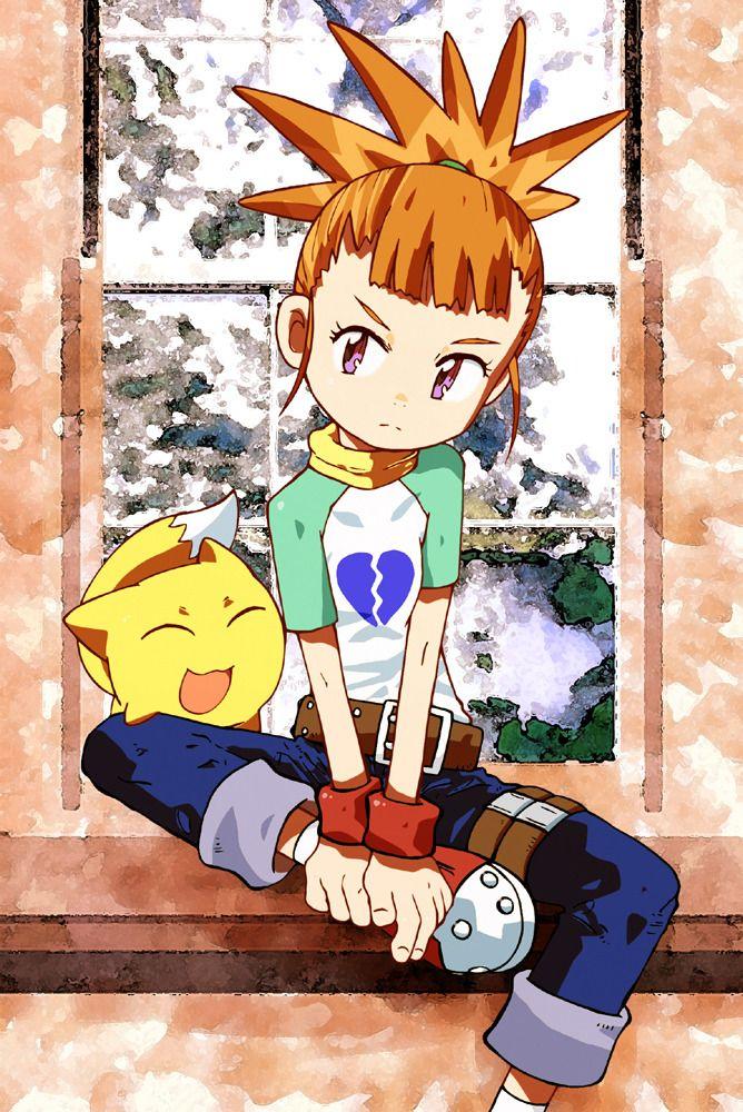 Pin on Gabumon (Digimon)