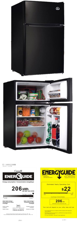 Compact Refrigerator And Mini Freezer Home Office Dorm Fridge Appliances  Party Part 58