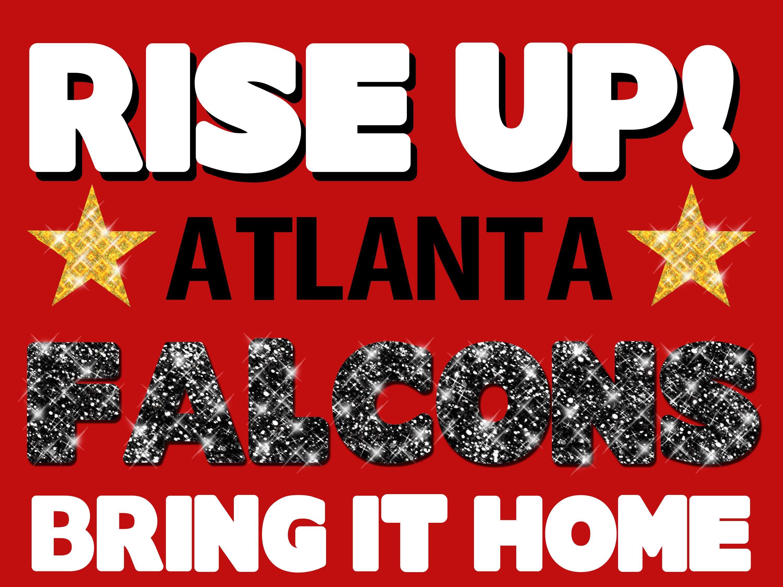 Atlanta Falcons Poster Idea Atlanta Falcons Art Atlanta Falcons Logo Atlanta Falcons Poster