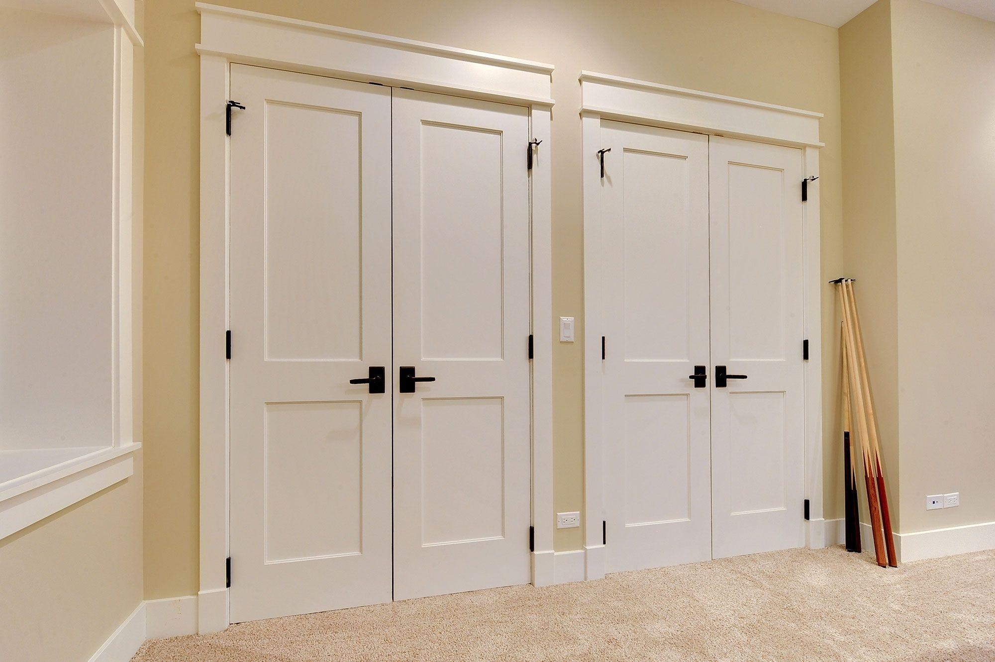 Bon Custom Size Wood Bifold Closet Doors
