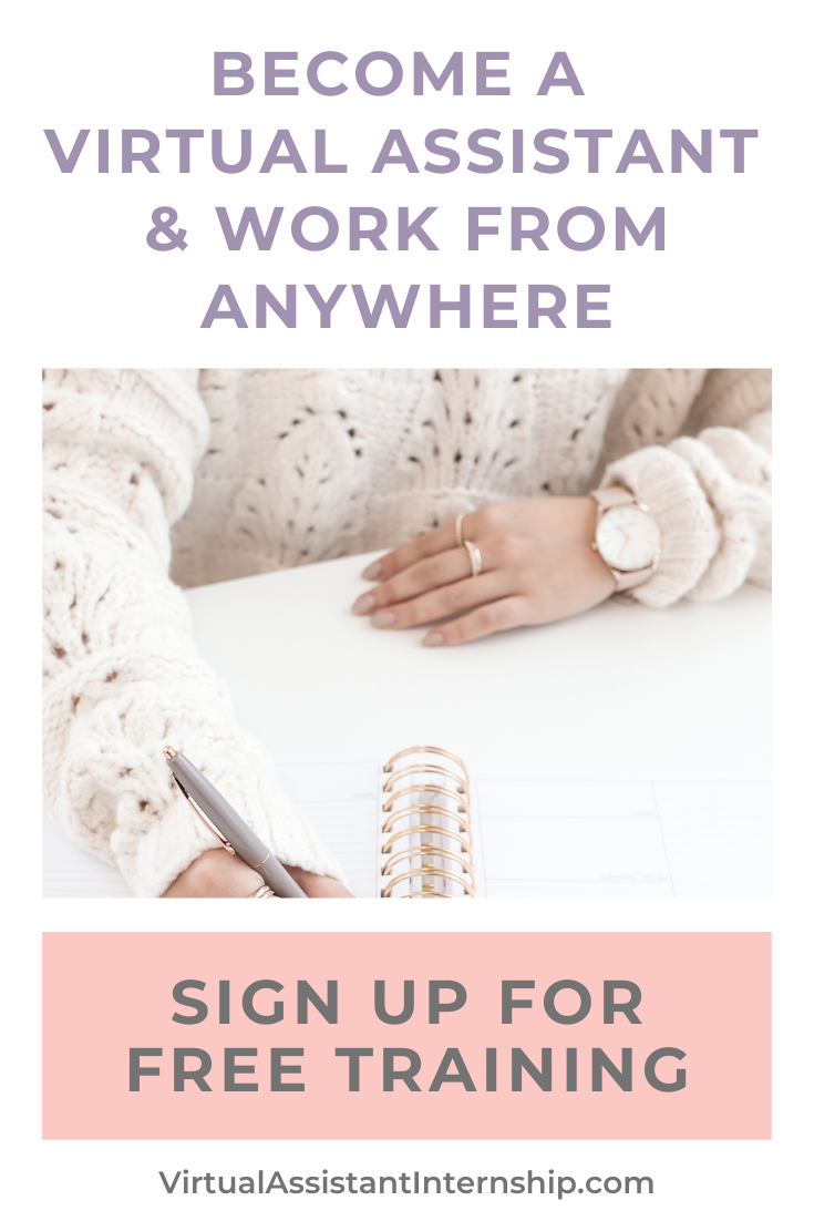 Work from Anywhere as a Virtual Assistant