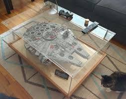 Billedresultat for millennium falcon vitrine millenium - Star wars couchtisch ...