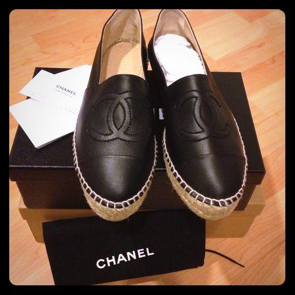 Chanel espadrilles, Espadrilles, Chanel