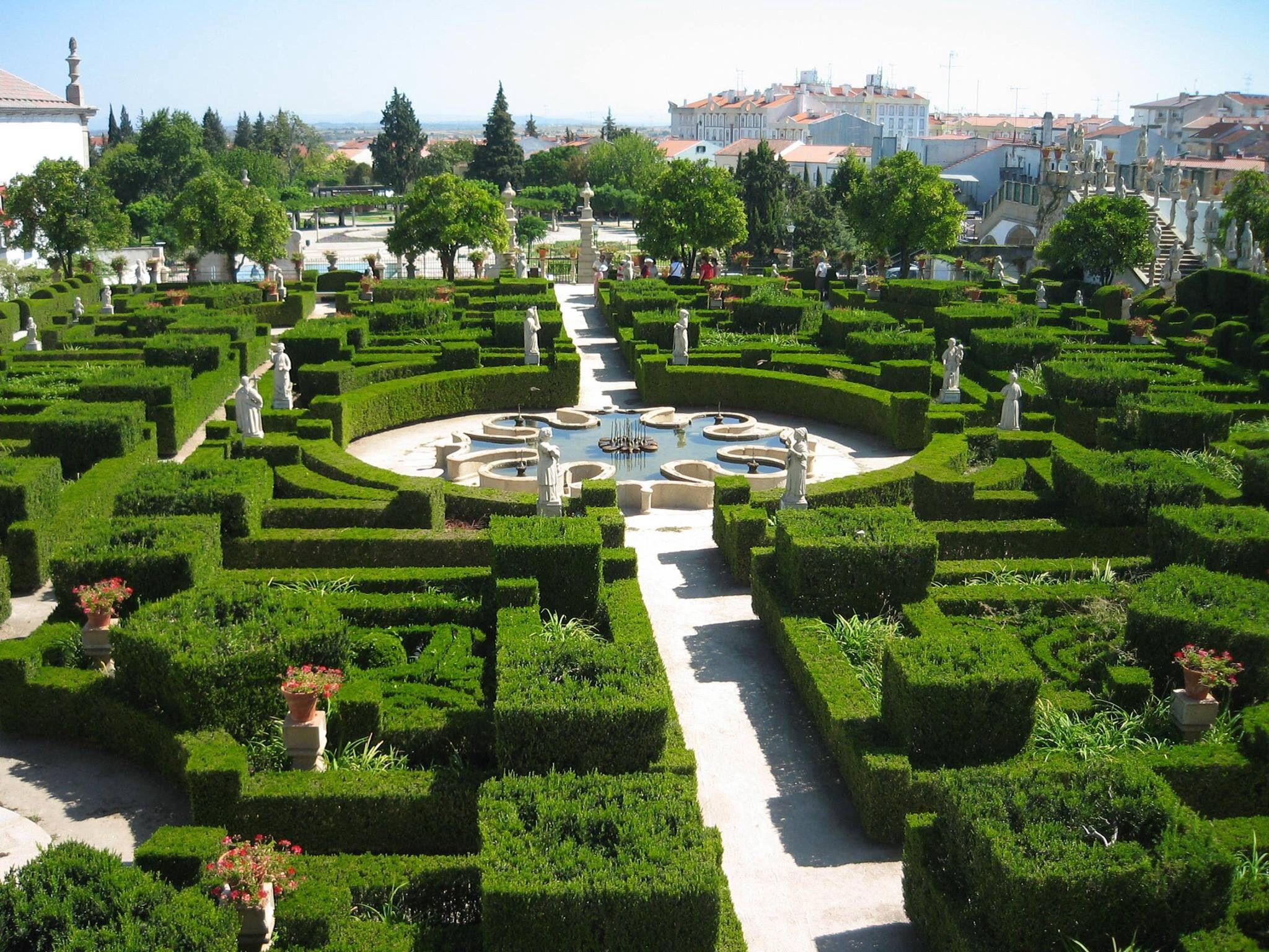 Jardim do Paço Episcopal, Castelo Branco