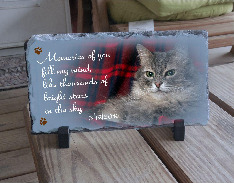 Pet memrial plaque, Cat memorial sayings, pet remembered