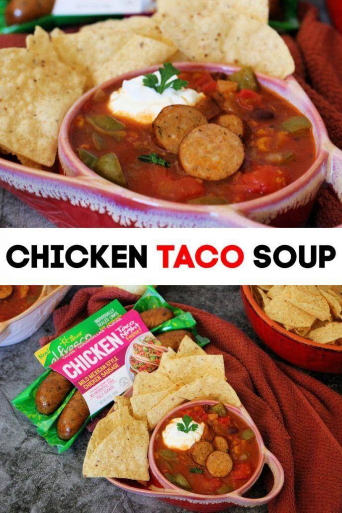 Chicken Taco Soup Recipe Easy Taco Night Recipe Made With Al