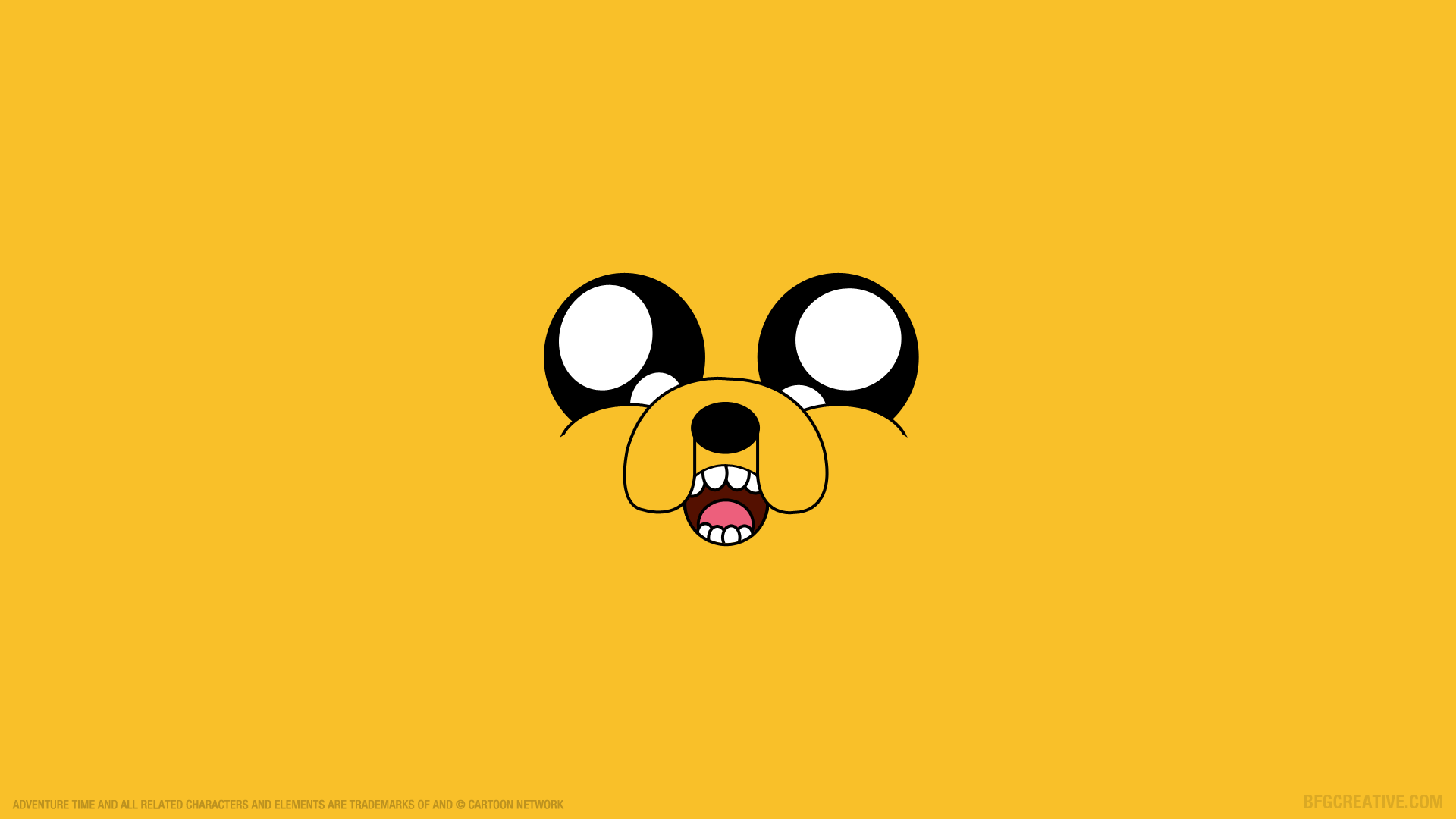 1920x1080 Wallpaper Of Jake From Adventure Time